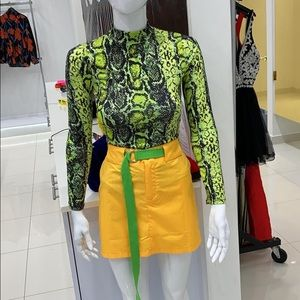 NWT xs green tip size xs